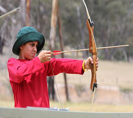 Archery cover size