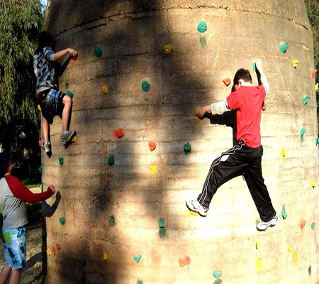 Bouldering cover size